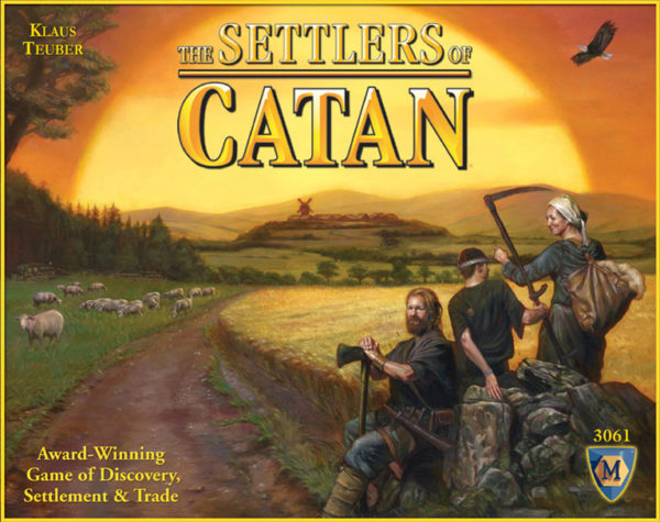The Settlers of Catan Box Art