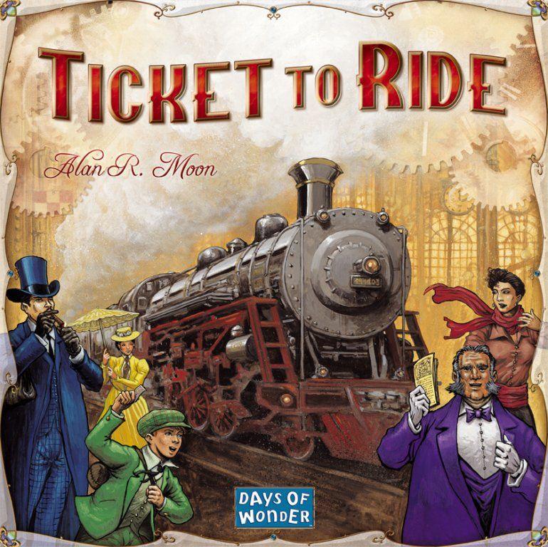 Ticket To Ride Box Art
