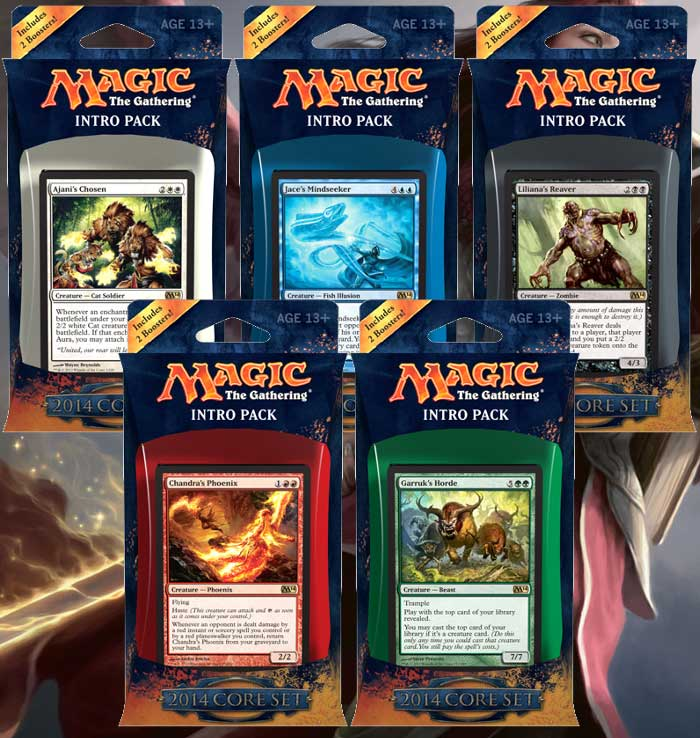MTG Intro Packs