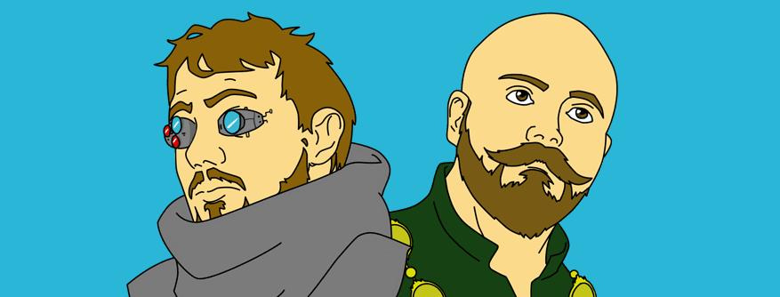 Luke Walker and Jesse Baker - Founders of The Board Game Shop