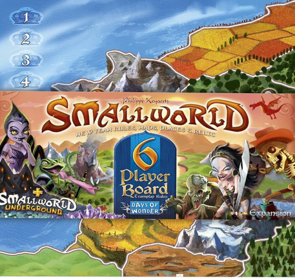 Smallworld 6 Player Board